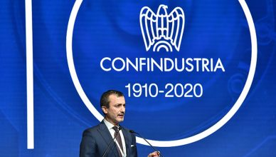 Presidente Gallina per i 110 anni di Confindustria